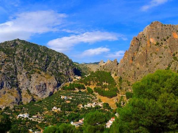 Vista panorámica de Quesada, en Jaén
