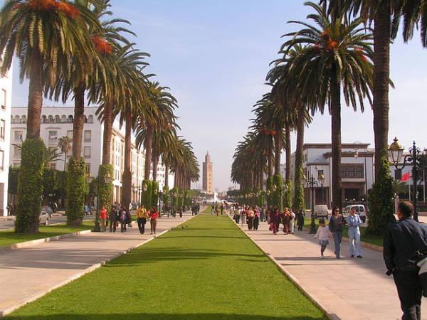 Rabat, la moderna capital del reino de Marruecos
