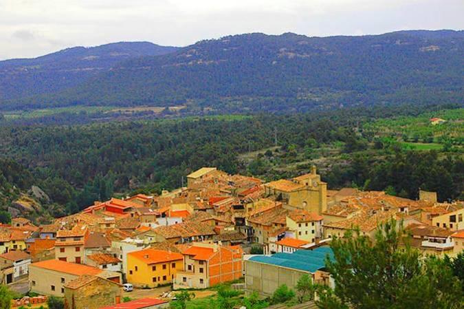 Ráfales, en la comarca turolense del Matarraña