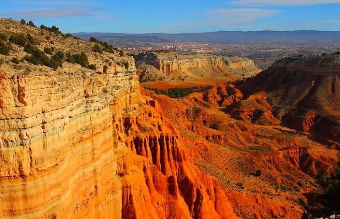 Rambla de Barrachina, el Lejano Oeste americano en Teruel