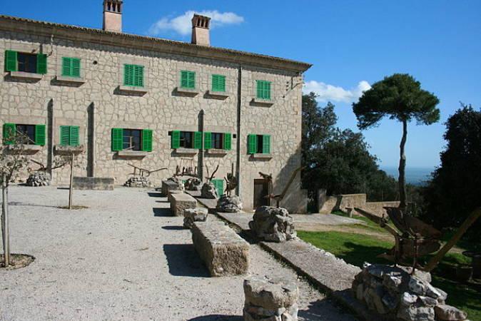 Santuario de Nostra Senyora de Cura, en Randa, Mallorca