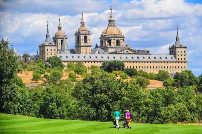 El Real Club de Golf La Herrería, en El Escorial