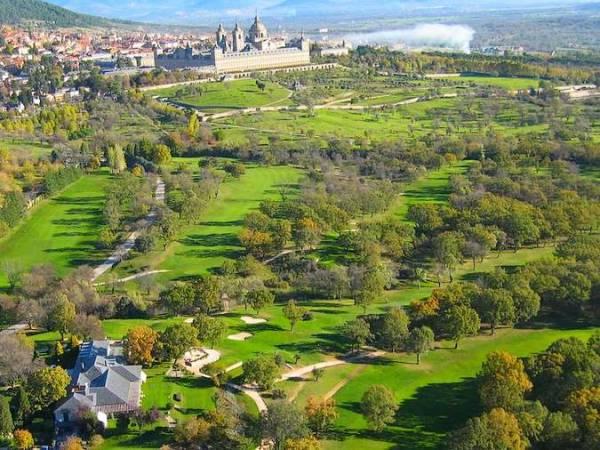 Real Club de Golf de la Herrería, en El Escorial