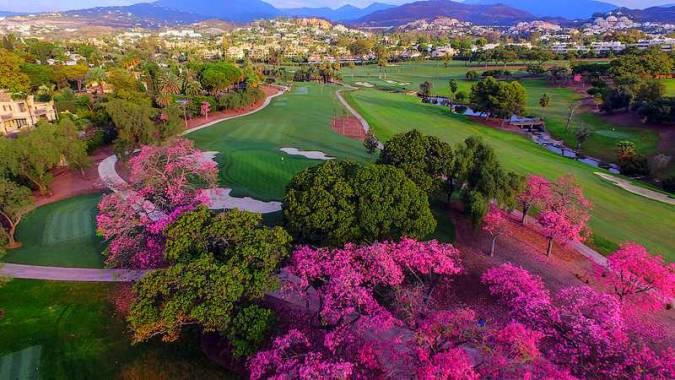 El Real Club de Golf Las Brisas, en Marbella