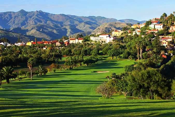 El Real Club de Golf de Las Palmas, en Gran Canaria