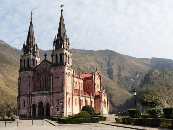 Basílica de Covadonga, en Asturias