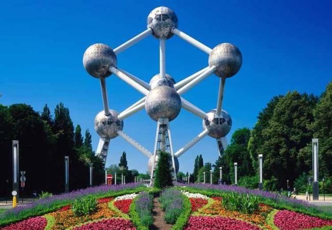 El Atomium, en Bruselas