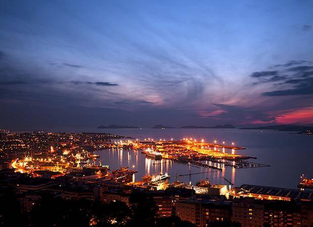 Recorriendo la ciudad de Vigo, en Galicia