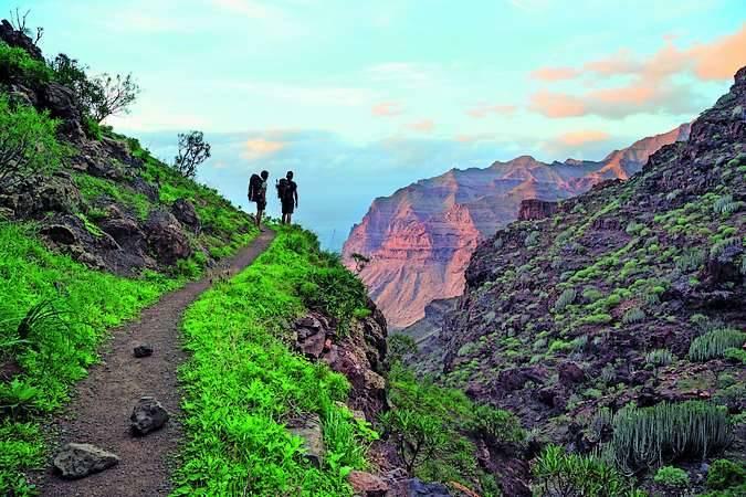 Reserva Natural Especial de Güigüi, en Gran Canaria