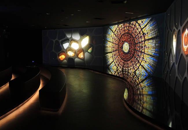 Audiovisuales en el Gaudí Centre