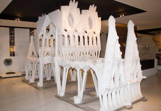 Maquetas en el Gaudí Centre