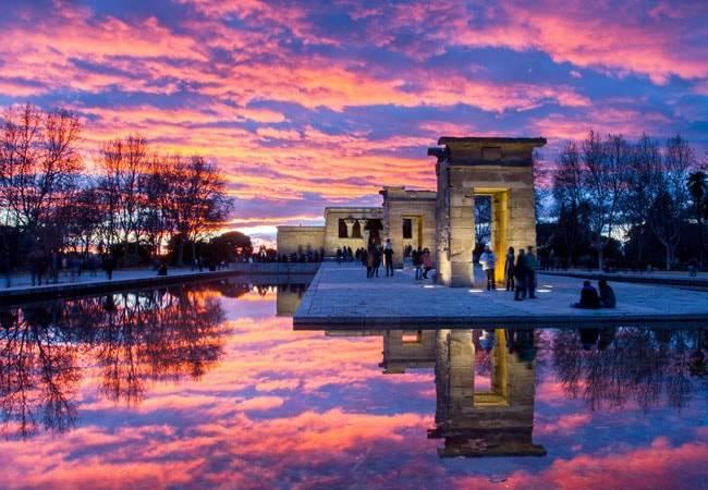Descubre el Templo de Debod en Madrid