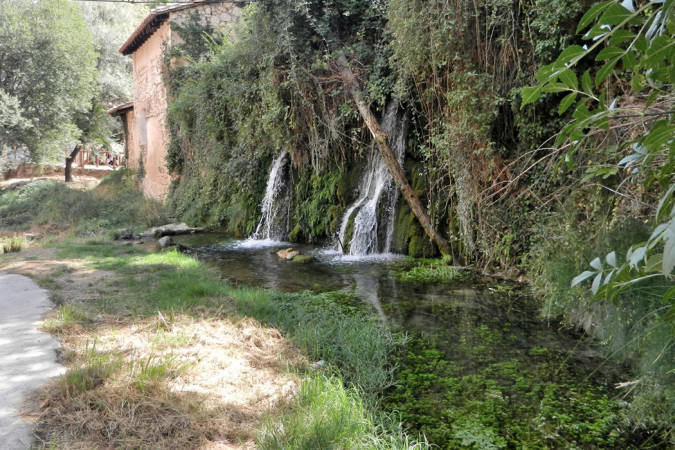 Ruta del agua del río Bohílgues, en Ademuz