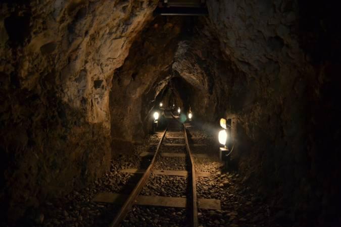 Conjunto minero de Puras de Villafranca, en la Ruta 44