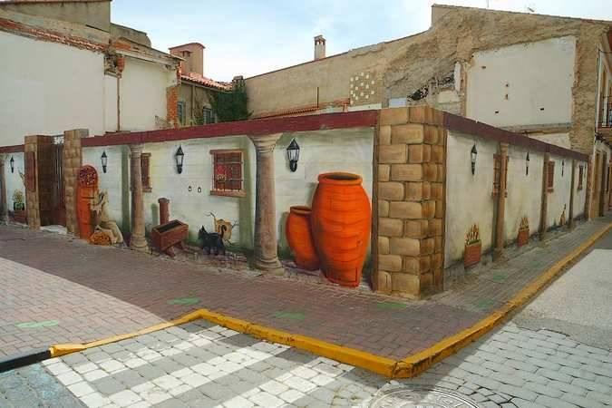 La Ruta del Arte Urbano de El Provencio, en Cuenca
