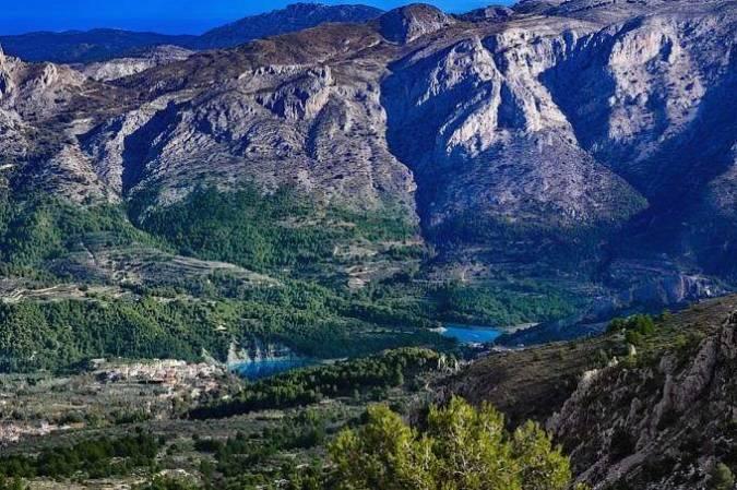 Sierra de Aitana, en la Gran Ruta de la Costa Blanca, Alicante