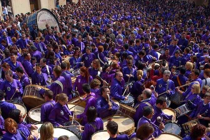 Semana Santa a golpe de tambor en Teruel