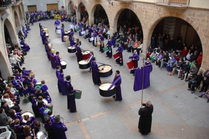 Semana Santa de Alcorisa, en la Ruta del Tambor y el Bombo