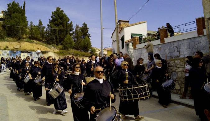 Semana Santa en Urrea de Gaén, en la Ruta del Tambor y el Bombo