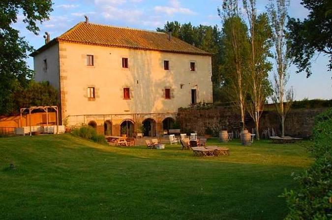 Restaurante Pera Batlla, en L'Armentera, Girona