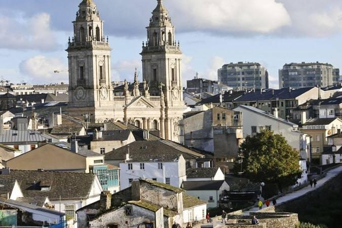 Lugo como escenario literario
