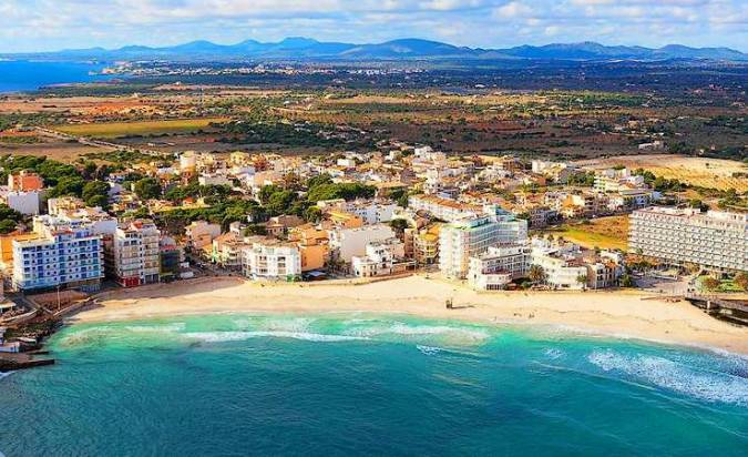 El núcleo turístico de S'Illot, en Mallorca