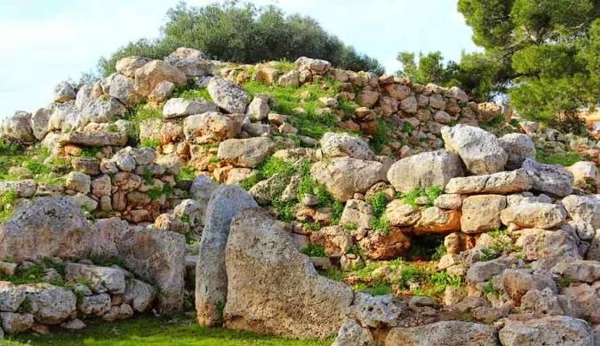 Poblado talayótico de S'Illot, en Mallorca