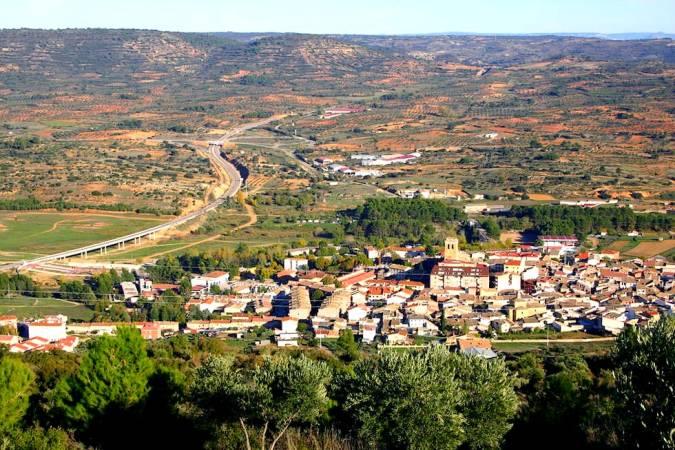 El pueblo alcarreño de Sacedón, en Guadalajara