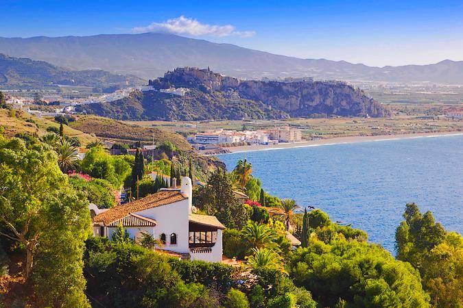 Salobreña: buenas playas en la Costa Tropical de Granada