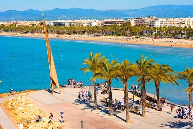 Salou, en la Costa Dorada de Tarragona