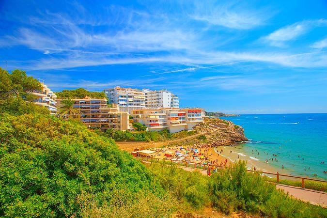 La localidad costera de Salou, en Tarragona