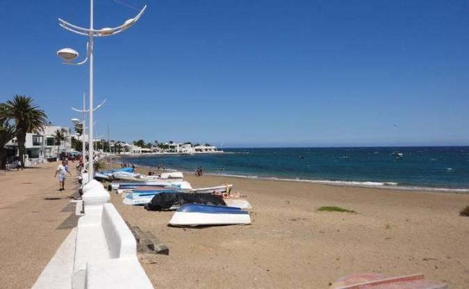 Playa Honda, en San Bartolomé, Lanzarote
