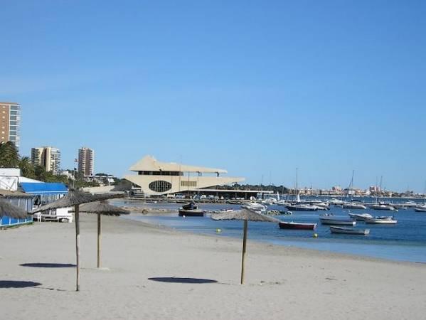 San Javier, a orillas del Mar Menor, en Murcia