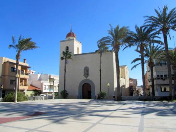 Iglesia de San Miguel de Salinas, en Alicante