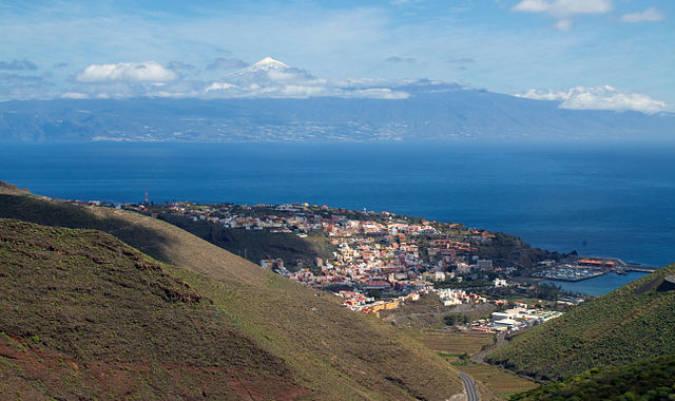 San Sebastian de La Gomera, en las Islas Canarias