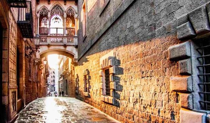 El Barrio Gótico de Barcelona