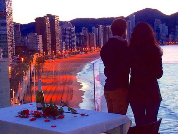 Un San Valentín diferente en Benidorm