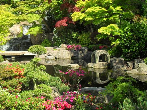 Kyoto Garden, en Londres, Inglaterra