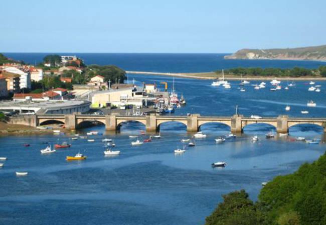 El Puente de la Maza en San Vicente de la Barquera