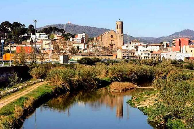 La verde Sant Boi de Llobregat, en Barcelona