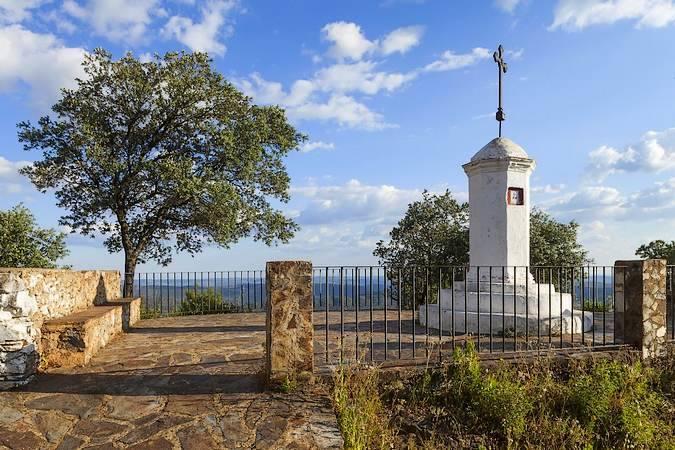 Cruz del Vigía, en Santa Ana la Real