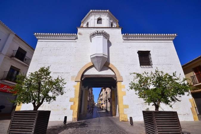Puerta de Granada, en Santa Fe, Granada