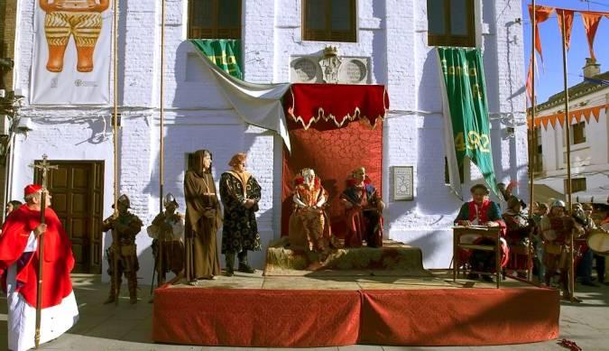 Fiesta de las Capitulaciones, en Santa Fe, Granada