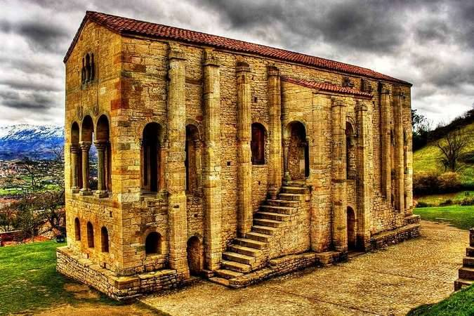 Santa María del Naranco, Patrimonio de la Humanidad en Asturias