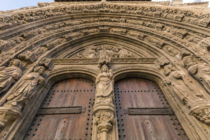 La sorprendente iglesia de Santa María de Requena