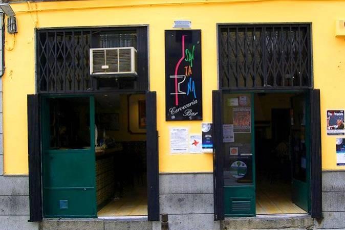 El Santana Bar, aperitivos y copas en Segovia