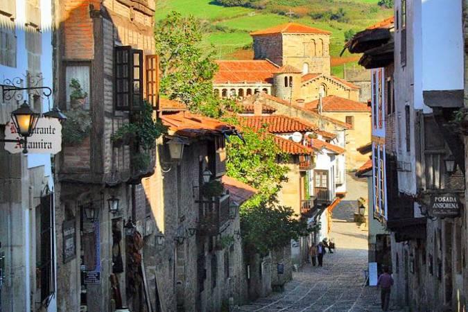 Santillana del Mar, en Cantabria