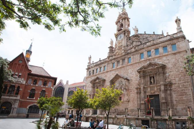 La iglesia de los Santos Juanes, en Valencia
