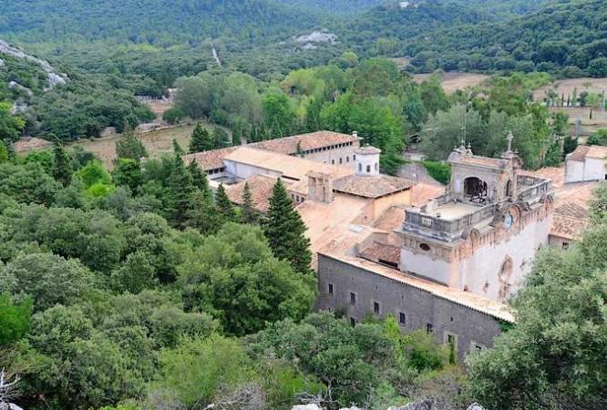 Santuario de Lluc, en Mallorca