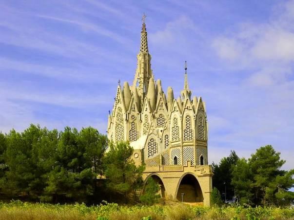 el Santuario de la Mare de Déu de Montserrat de Montferri, en Tarragona